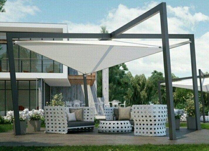 Tenda Membrane Pergola Tenda Dan Desain