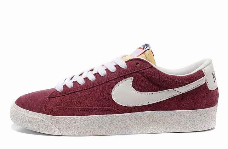 Nike Blazer Entrenadores Bajo Burdeos En Mayor Footaction Amazon 2yu0yiY