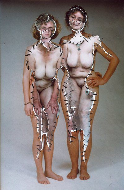 LOVE the stitching together of all body forms...beginning to think of how this could relate to modern day situations.