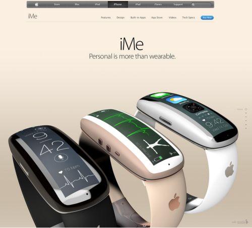 iMe concept smartwatch Apple