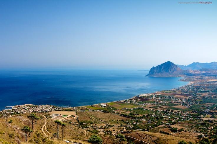 Sicilia La Baia del monte Cofano Trapani
