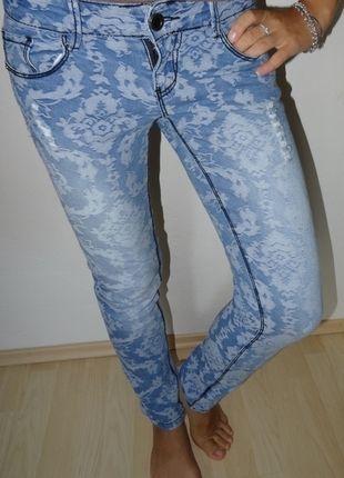 Kupuj mé předměty na #vinted http://www.vinted.cz/damske-obleceni/dziny/9764625-trhane-svetle-skinny-dziny-zn-gate