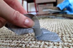 How to Remove Duct Tape Residue From Carpet (with Pictures) | eHow