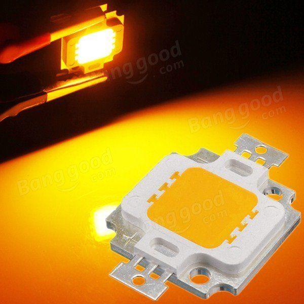 LUSTREON Multifarben 10W hohe Power LED Chip Decke unten Flut Licht Lampe Zubehör DC9-12V Verkauf - Banggood.com