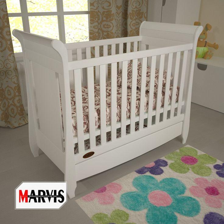 În pătuțul din lemn masiv de fag Maria, copilul tău va crește sănătos și fericit! #patut