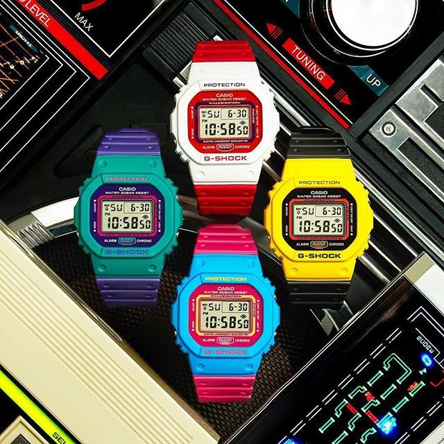 CASIO - G-Shock Protection  Colorful  #152store #casio #gshock #gshockprotection #perugia