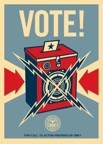 VOTE! by Obey/Shepherd Fairey
