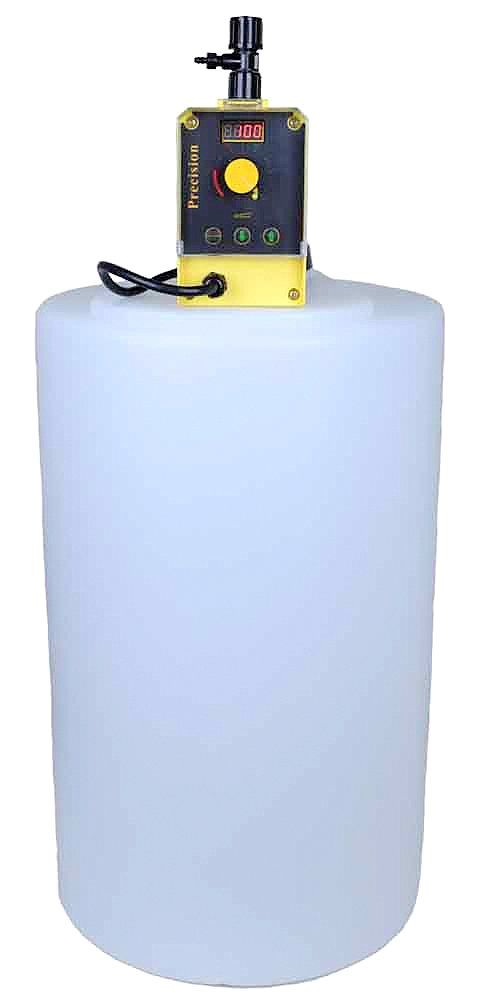 Chlorinator Well Water Package Precision-24 + 15 Gal Solution Tank CWS CS000340: Clean Water Store