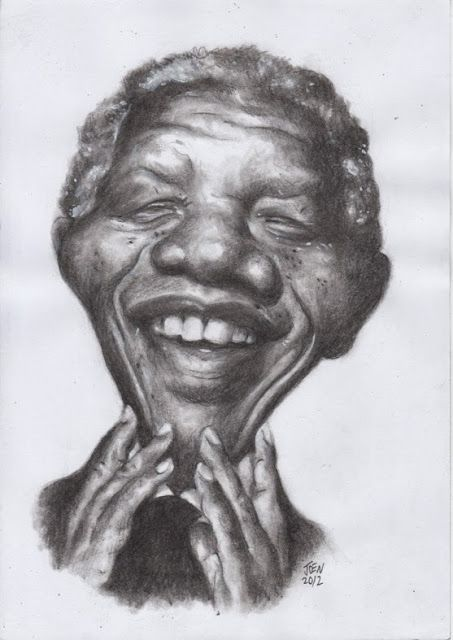 caricharcoal - R.I.P. Nelson Mandela (18 July 1918 – 5 December 2013)