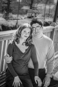 Love in Black & White Engagement Session Leslie Byrd Photography