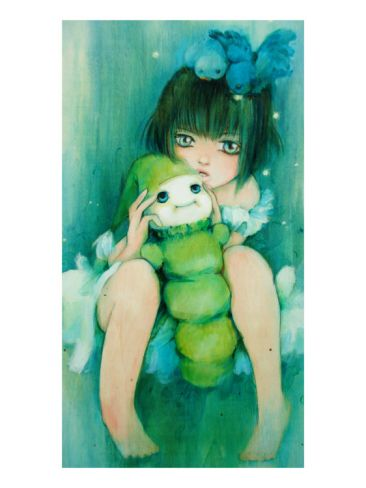 Glow Friends by Camilla D'Errico . Giclee print from Art.com.