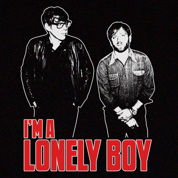 Black Keys Lonely Boy T-Shirt Design. Available in Mens, Womens and Kids sizes.