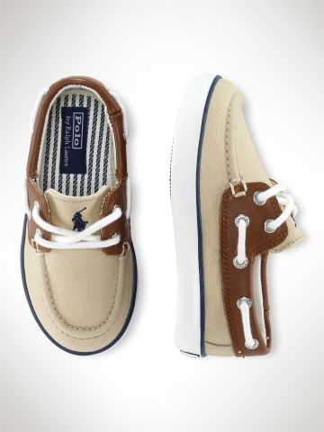Polo by Ralph Lauren. Toddler boat shoes