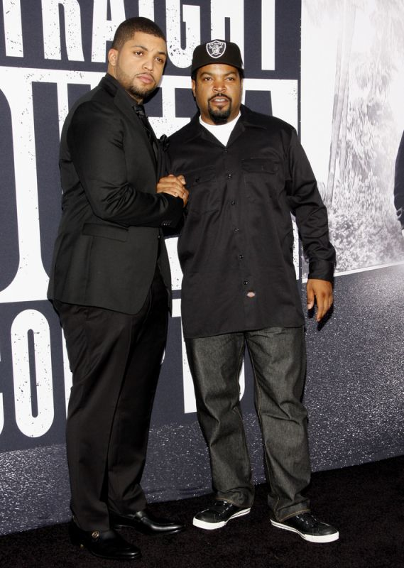 Ice Cube and son Oshea