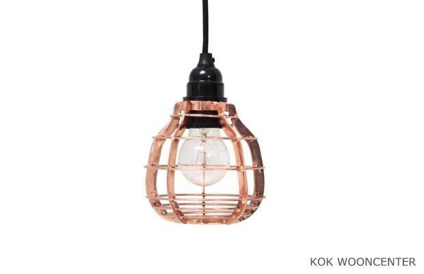 HK Living lab lamp koper