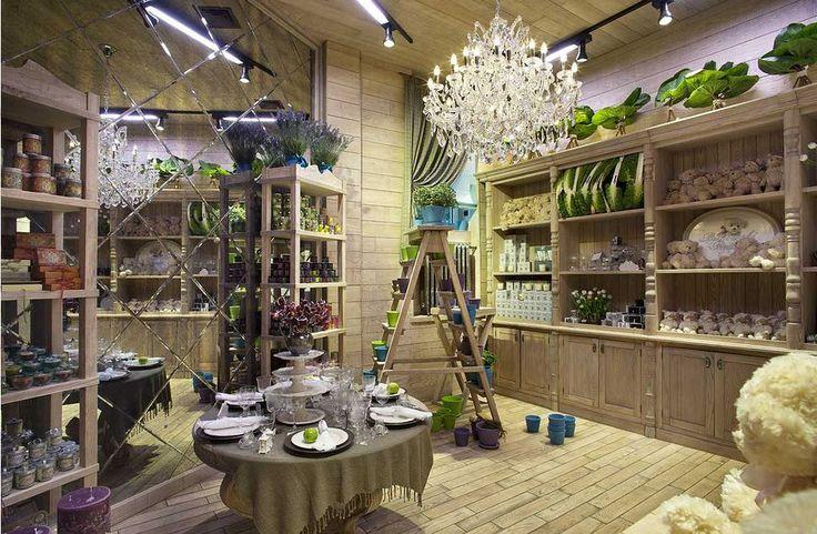 Интерьер цветочного магазина фото