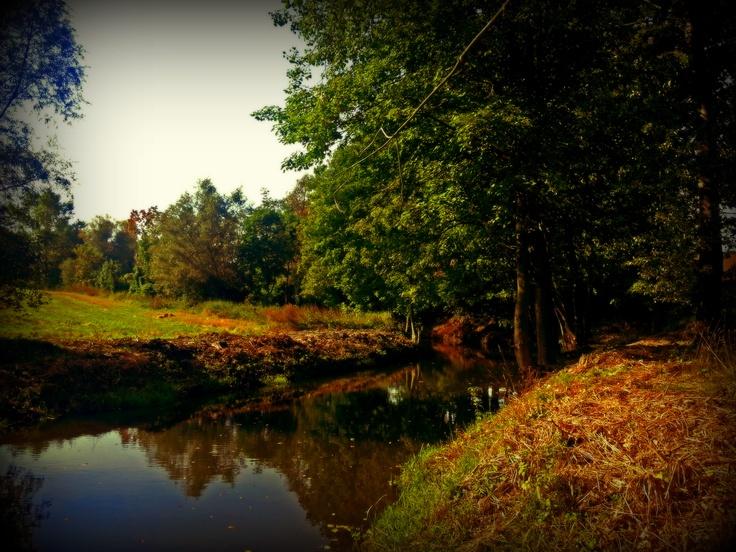 Szembruk Vilage, The Gardega River