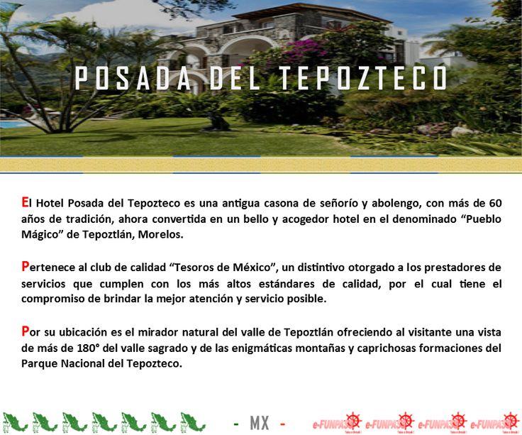 TEPOZTLÁN - Hotel Posada del Tepozteco