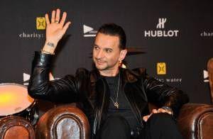 Dave Gahan lors du concert de Depeche Mode au Stade de France, le 15 juin 2013....