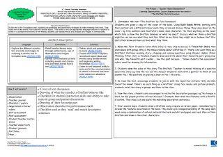 "Australian Curriculum: English - Year Three Learning Sequence ""Imaginative Narratives"""