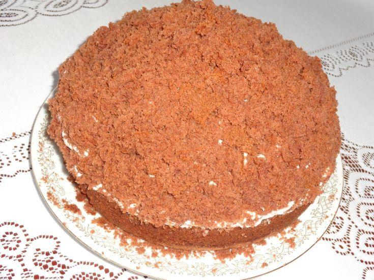 Fotorecept: Domáca krtková torta