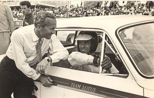 Colin Chapman, Jim Clark, Lotus Cortina