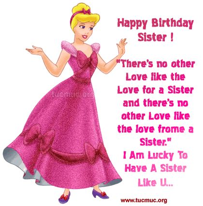 Free Clip Art Sister Birthday | Sister Birthday Comments