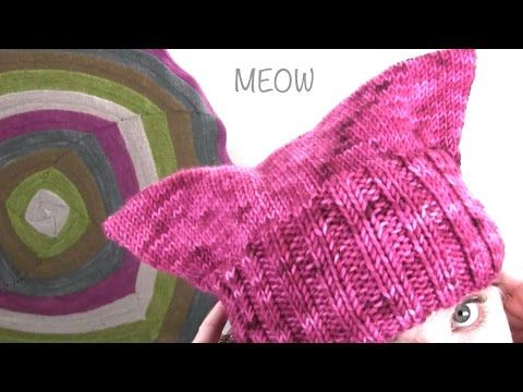 Learn step-by-step how to knit and purl while making the Pussy Hat Project to support women's rights at the Women's March on Washington D.C. on January 21, 2...