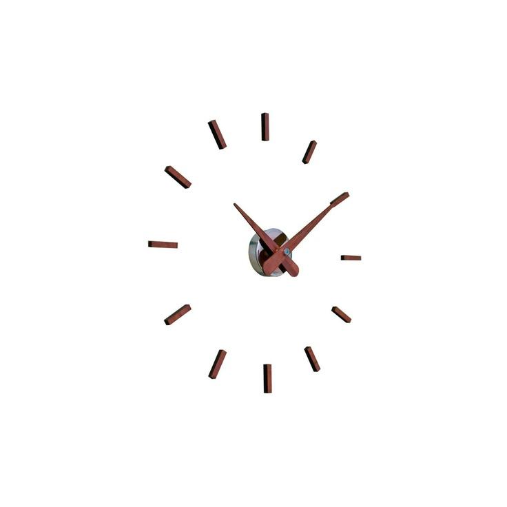 Relojes Nomon Reloj de pared Sunset Reloj de pared moderno Sunset Nomon. El acabado en nogal natural o wengué de las agujas y puntos horarios le dan una gran...