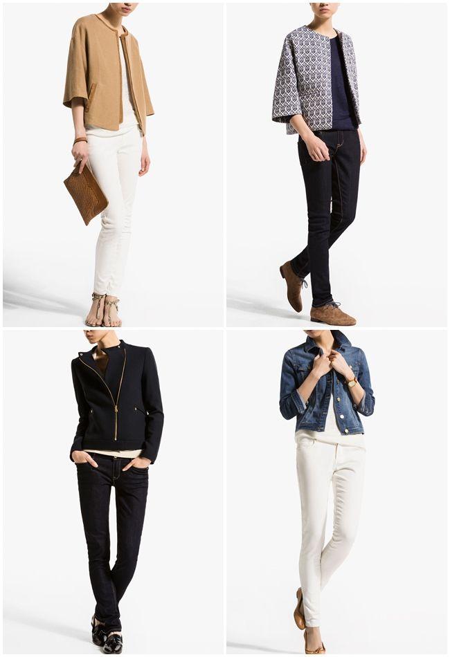 Colección de chaquetas de Massimo Dutti, primavera verano 2014
