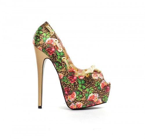 Pantofi Edera Maro -  Material textil  Colectia Incaltaminte de la  www.cadoupentruea.ro