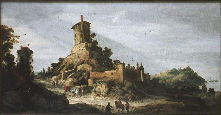 Momper Joos II Vue de la campagne romaine