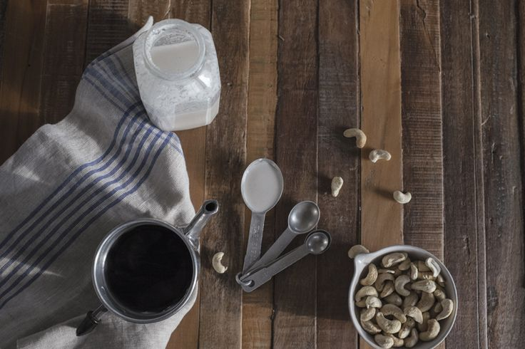 homemade coconut cashew milk by Emily Leclerc