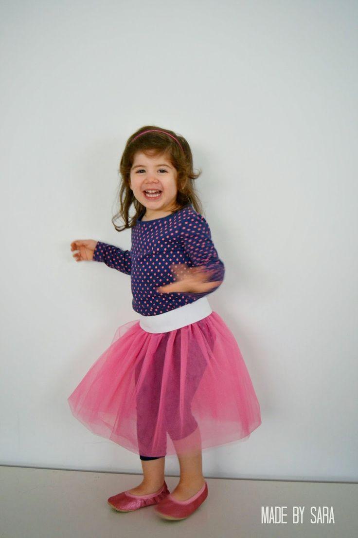 A DIY Tulle Skirt - Peek-a-Boo Pattern Shop