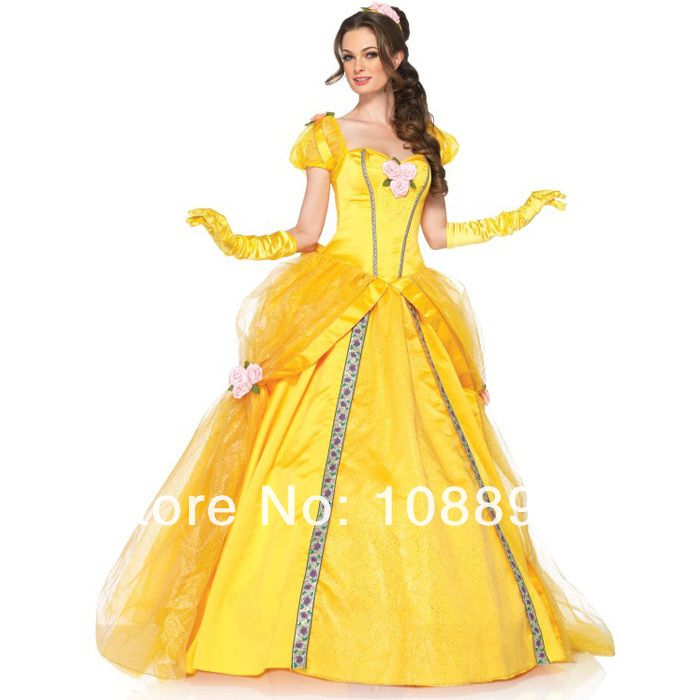 Взрослых принцесса белль костюм красоты и зверь костюмы женщины белль косплей хэллоуин костюмы для женщин фантазии платье на заказ купить на AliExpress