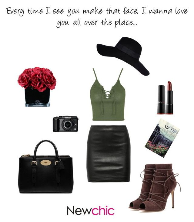 """""""""""Don't do it baby, don't do it to me.."""" by oliviiiias on Polyvore featuring Topshop, The Row, Gianvito Rossi, Mulberry, blacklUp, Hervé Gambs, River Island, Olympus, women's clothing and women's fashion"""