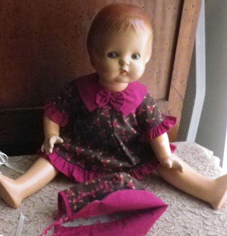 "BELLE PATSY ANN POUPEE AMERICAINE Effanbee_COMPOSITION ""ANNEES30""_48cm"