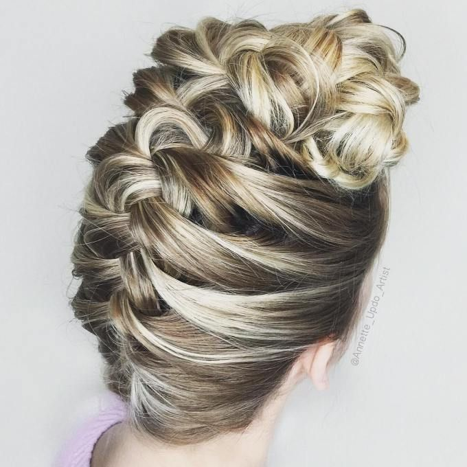 Best 25+ Upside Down Braid Ideas On Pinterest