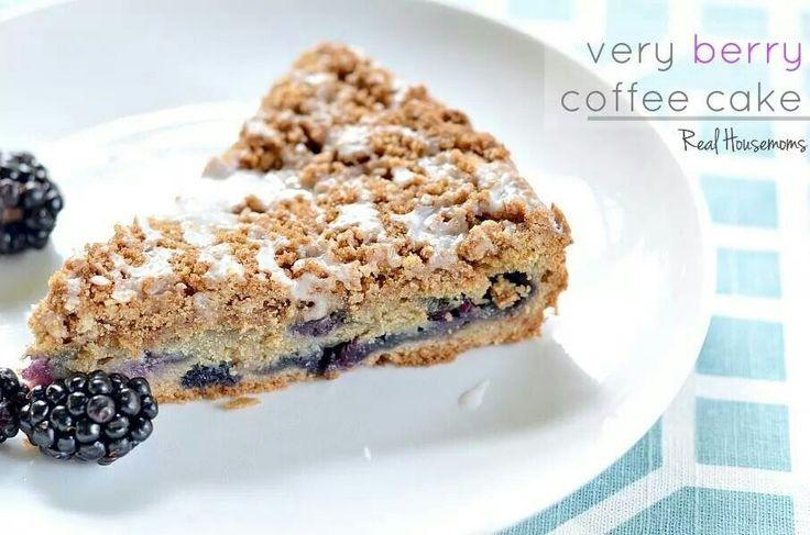Berry Good Coffee Cake Recipe — Dishmaps