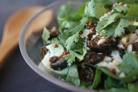 Spicy eggplant salad http://www.nourishmagazine.co.nz/25/spiced-eggplant-salad-inspired-by-ripe/