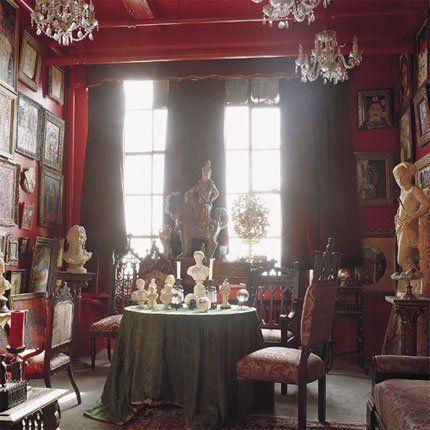 Chez Le Peintre Hunt Slonem Set DesignDesign ArtInterior DesignVictorian