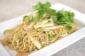 Harumi Kurihara's Noodles with Shrimp & Veggies