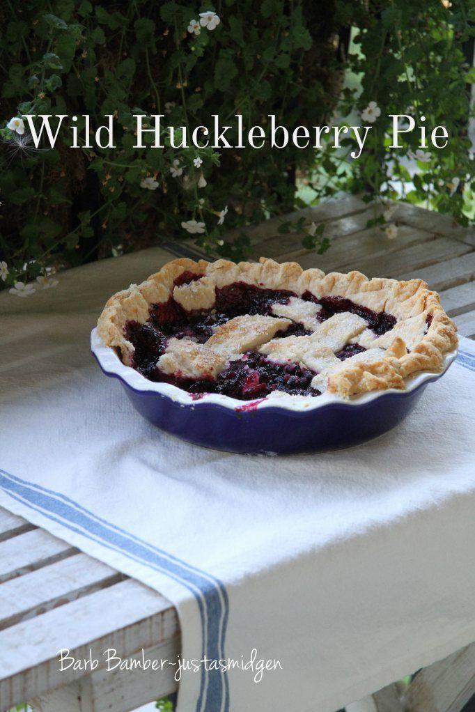 Wild Huckleberry Pie <3