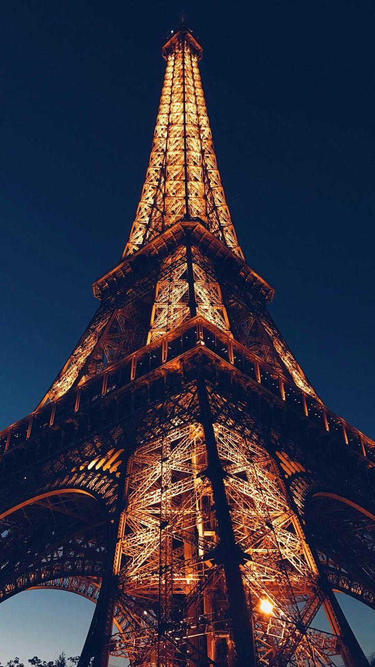 Nuit à Paris à Nuit Paris Papier Peint De Paris Fond