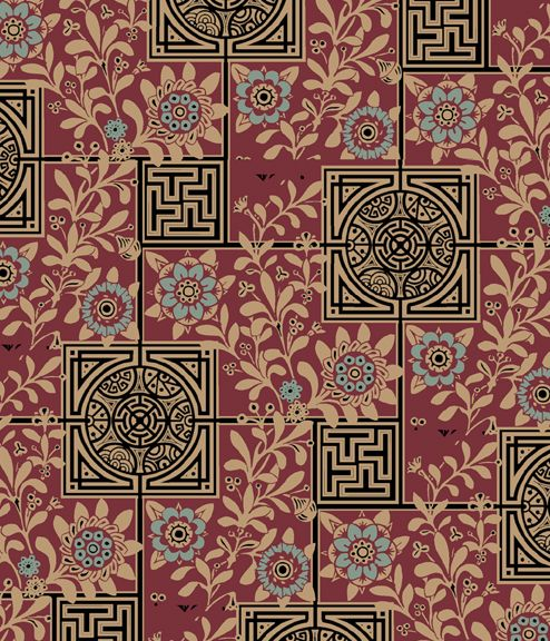 Anglo Japanese Wallpaper Http Www Aestheticinteriors Com