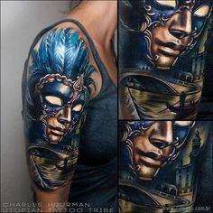 17 tatuagens realistas 3D