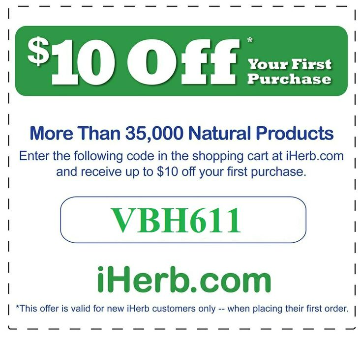 Use Coupon Code VBH611 to get $10 off first time orders with a minimum purchase of $40 or $5 off first time orders less than $40.