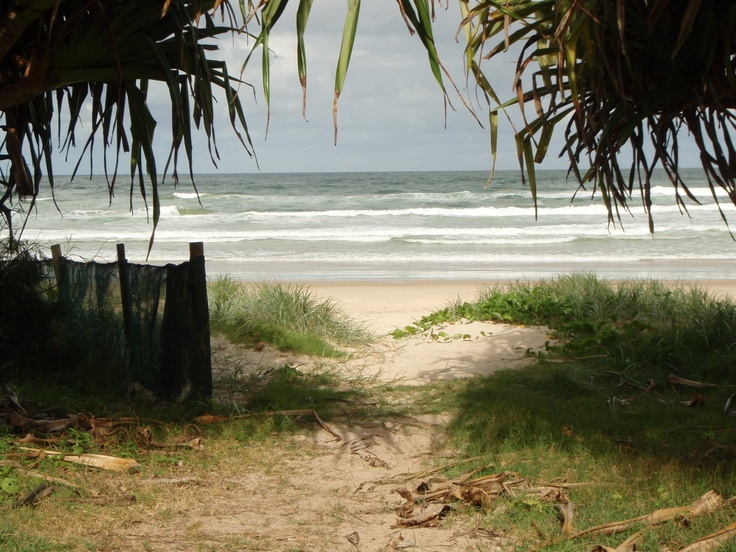 and walk this beach with friends - Lennox Heads NSW Australia