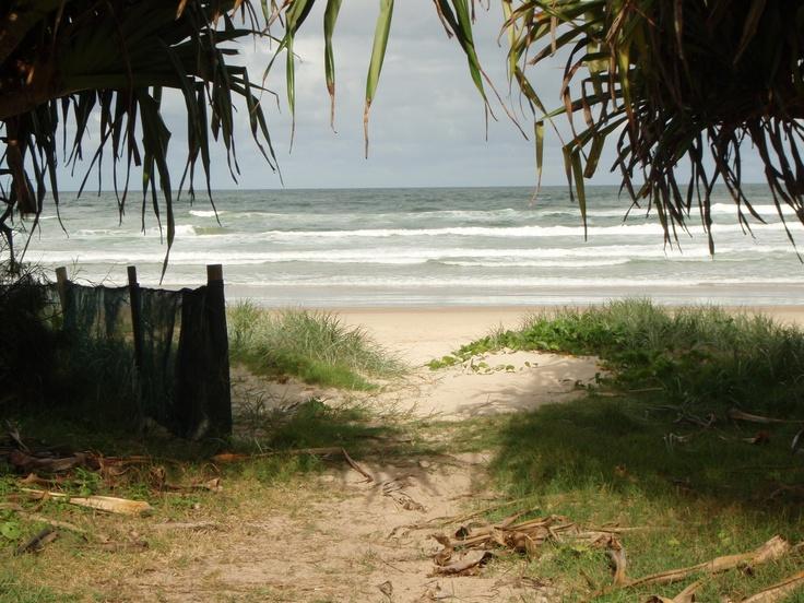 beach path Lennox Heads NSW Australia