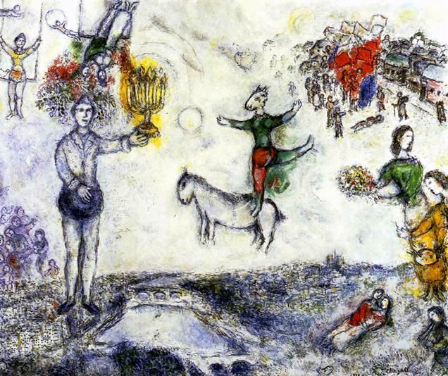 234 best Paintings of Marc Chagall images on Pinterest ... Chagall Witte Kruisiging